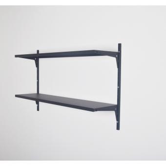Element System Regal-Set Office 1 schwarz matt
