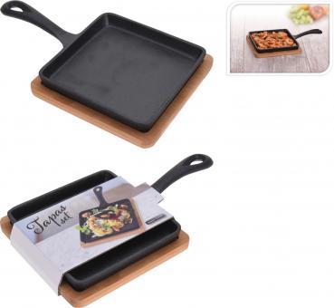 Excellent Houseware Tapas Tapaspfanne flach