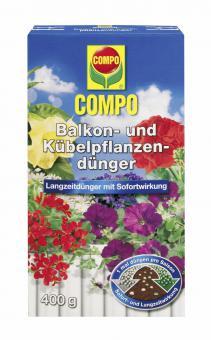 COMPO 2-Phasen Balkon- und Kübelpflanzendünger