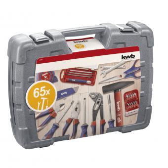 KWB Werkzeugkoffer 65 tlg.