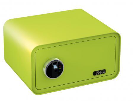 Basi mySafe 430 Fingerprint Elektronik-Möbel-Tresor apfelgrün