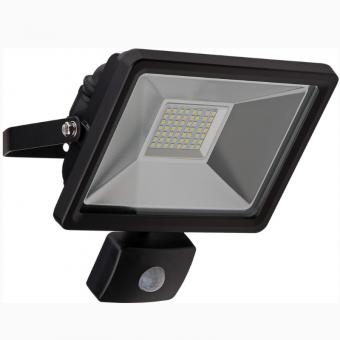 Goobay LED Außen-Flutlichtstrahler mit Bewegungsmelder 30 W