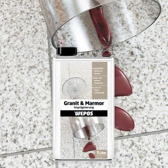 Wepos Granit & Marmor Imprägnierung 1 L