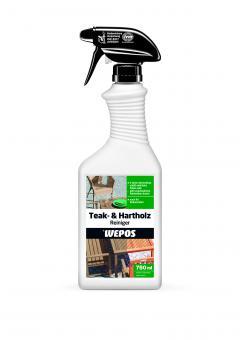 Wepos Teak-& Hartholz Reiniger 750 ml