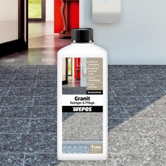 Wepos Granit Reiniger & Pflege 1 L