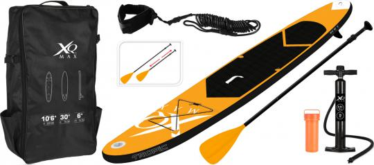 XQ Max Premium Stand Up Paddle Board gelb