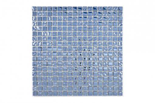 KEM Mosaik Quadrat Crystal mix platin 300 x 300 mm