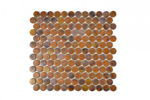 KEM Mosaik Knopf Kupfer 298 x 282 mm