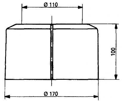 Kabelschneider Snips 2175/Xuron Maxi neigen Flush orange Soft Grip Made in USA